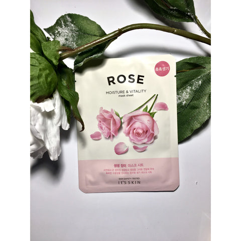 IT'S SKIN Rose Sheet Mask