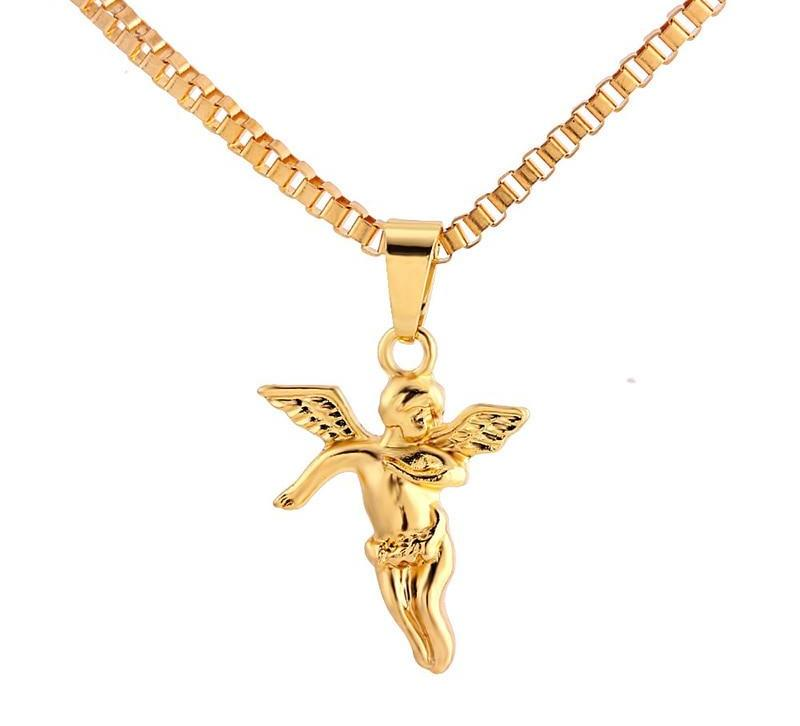 Angel Pendant Necklace