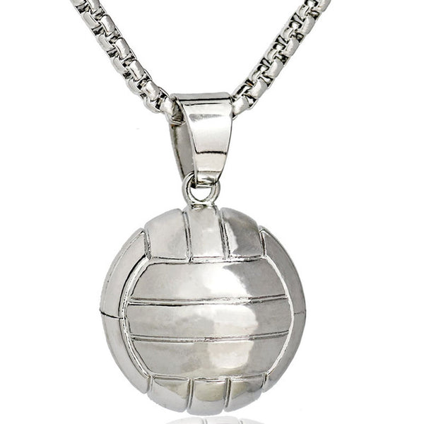 Basketball pendant necklace nbahotshots basketball pendant necklace mozeypictures Images