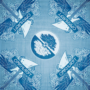 Electric Denim Blue Guitar Bandana - Available in 2 sizes