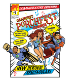 Porchfest Comic Book Super Heroes