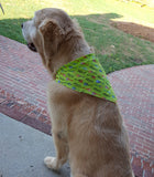 Dog Bandana 4 sizes available in 2 colors