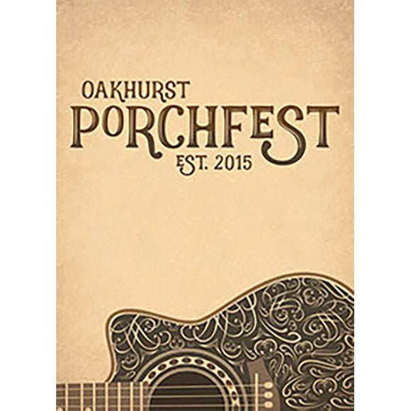 Porchfest Flags