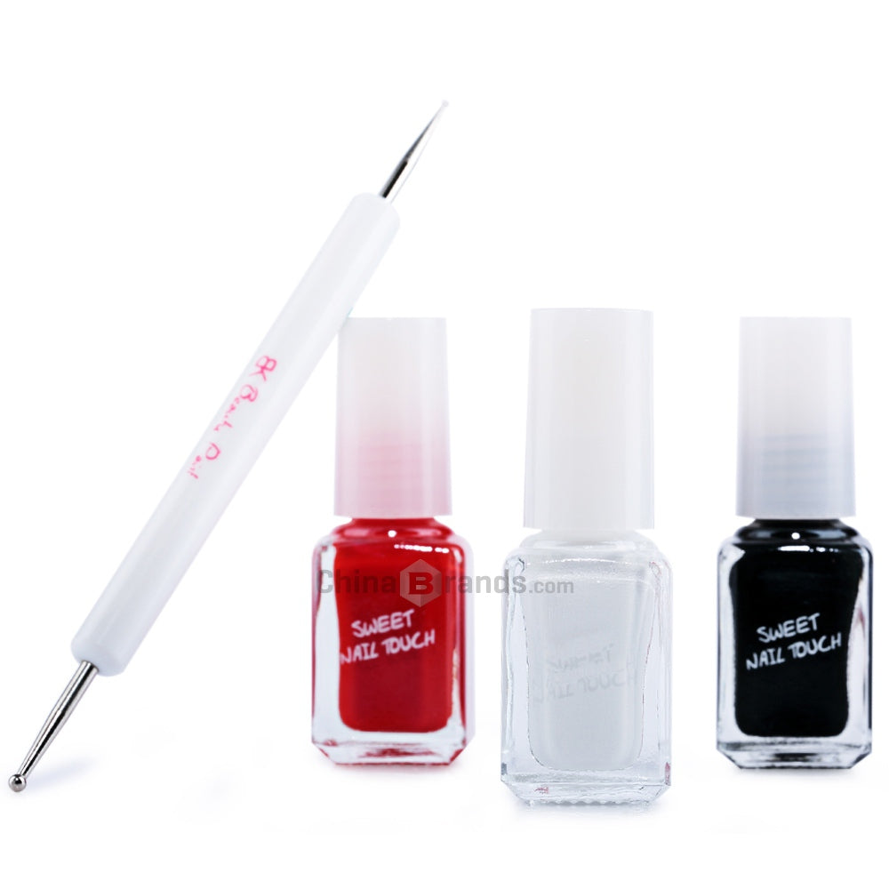 Nail Art Diy Nail Polish Kit With Nail Art Pen Eshopgps