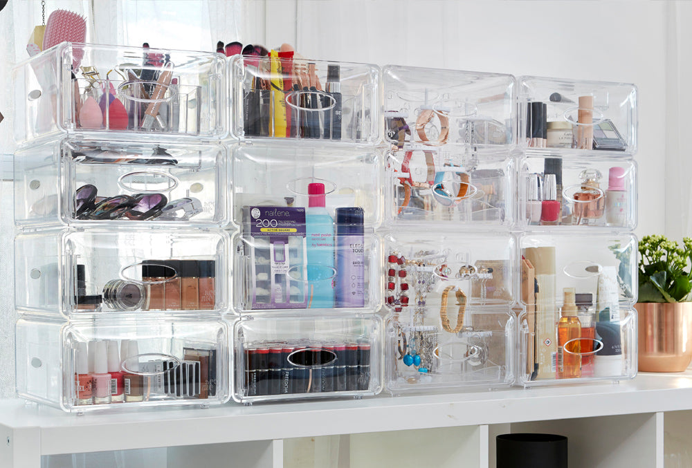 """Spark JOI"" with these makeup organizers that will get Marie Kondo's stamp of approval!"