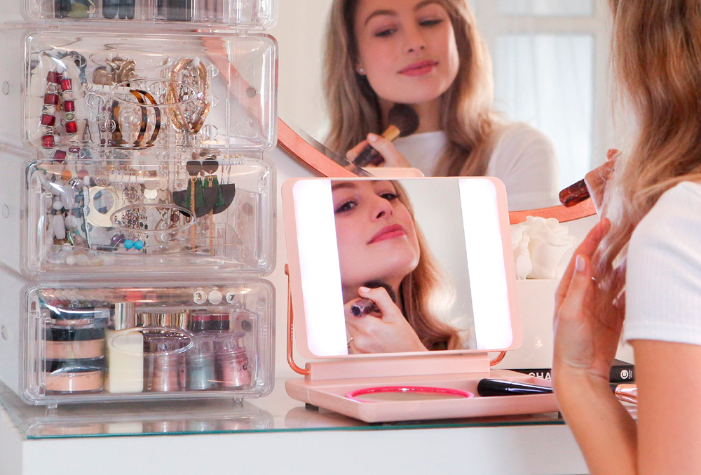 Meet the mirror that is helping beauty fans spot the early signs of skin issues before they become a problem