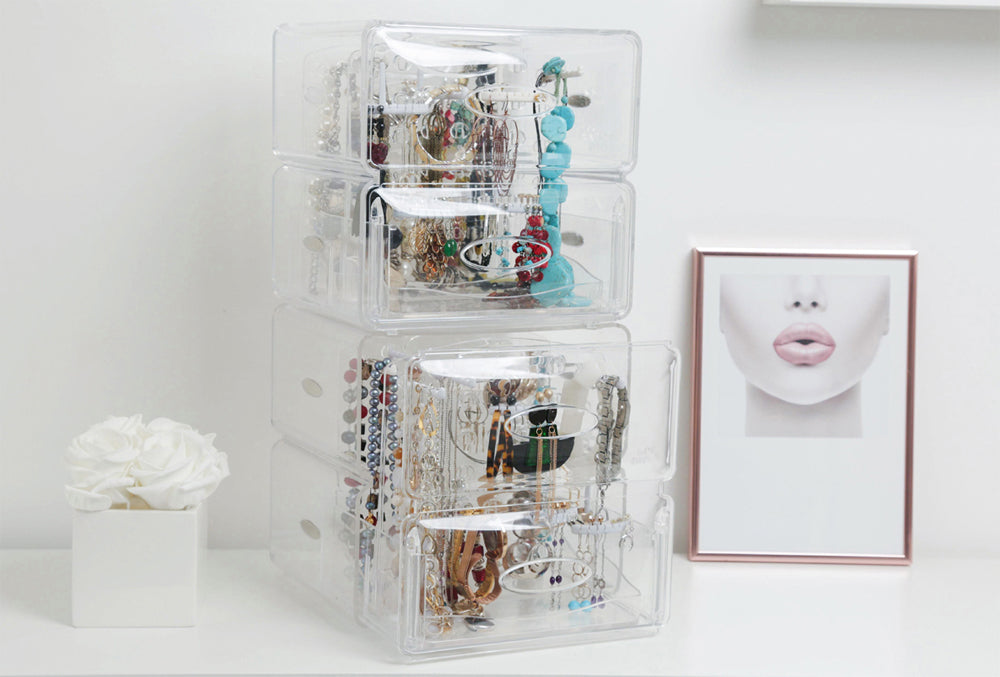 How to organize your jewelry collection -  for the last time!