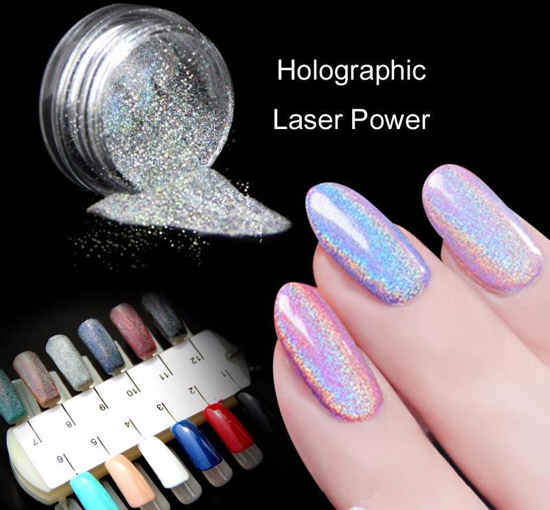 Unicorn Holographic Nail Powder Pigment