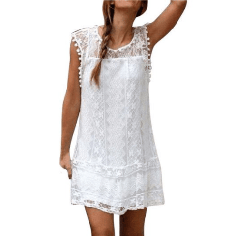 Harlow Tassel Boho Dress - Studio Runway