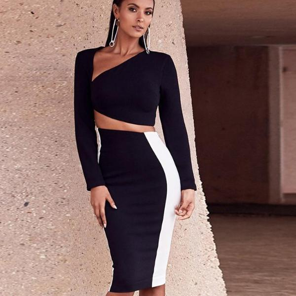 Aurelia Two Piece Bodycon - Studio Runway