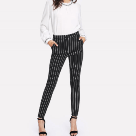 Jaclyn Tapered Office Pants - Studio Runway