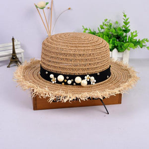 Skyla Straw Boater Hat