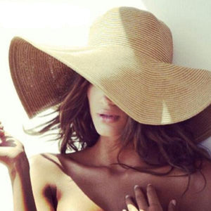 Serenity Floppy Straw Hat - Studio Runway
