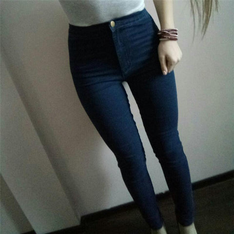 Image of Nadine High Waisted Jeans - Studio Runway
