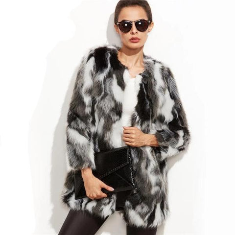 Coco Faux Fur Jacket - Studio Runway