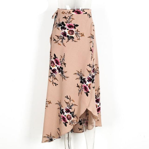 Image of Bridie Floral Boho Maxi Skirt - Studio Runway