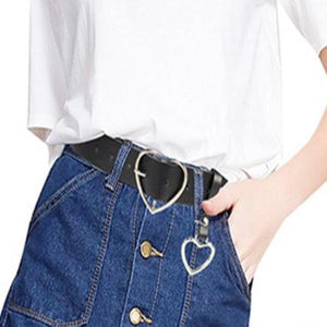 Lulu Metal Heart Belt