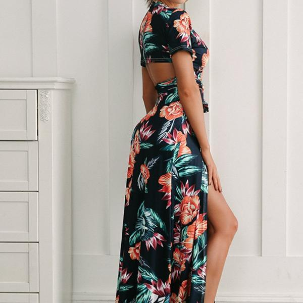 Yvette Wrap Maxi Dress - Studio Runway