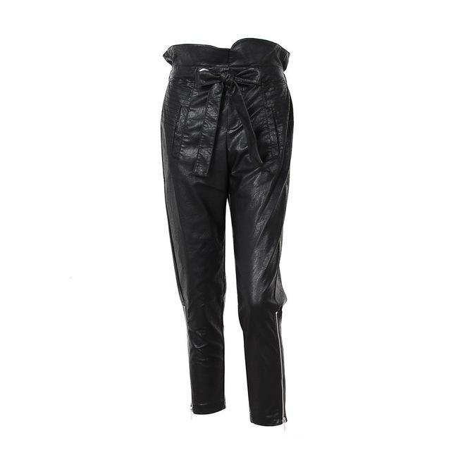 Easton PU Tapered Pants - Studio Runway