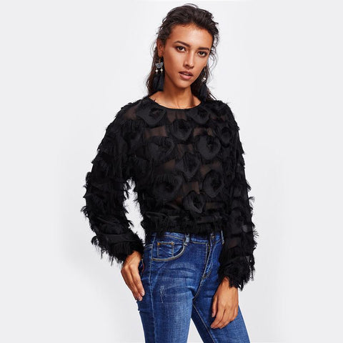 Image of Dominique Patch Blouse - Studio Runway