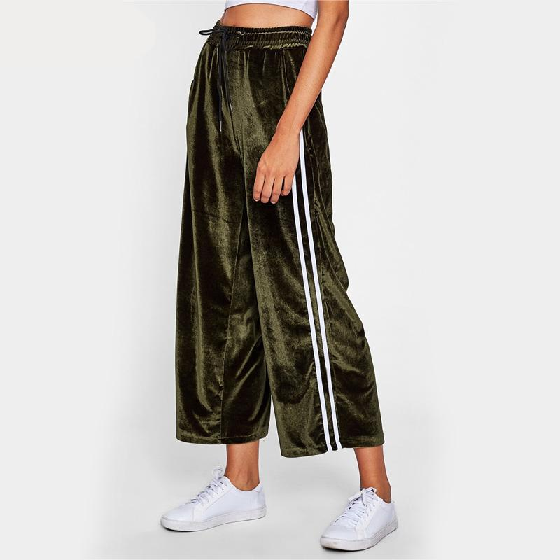 Nora Velvet Wide Leg Pants - Studio Runway