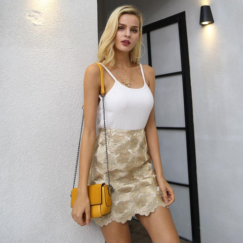 Image of Helene Mini Skirt - Studio Runway