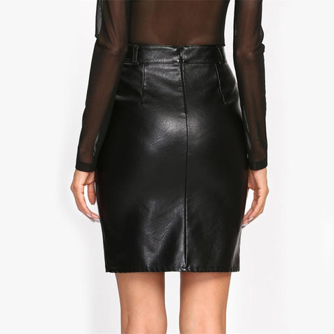 Image of Georgette Pencil Skirt - Studio Runway