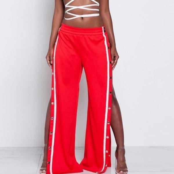 Eloise Split Wide Leg Pants - Studio Runway