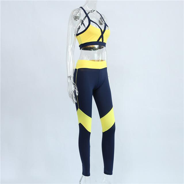 Arla Two Piece Fitness Suit - Studio Runway