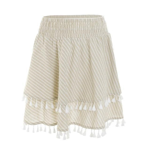 Harper Tassel Mini Skirt - Studio Runway