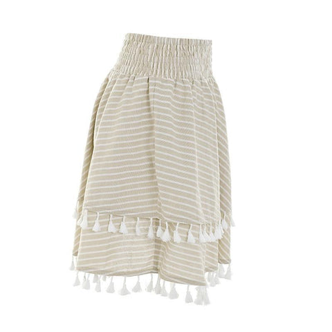 Image of Harper Tassel Mini Skirt - Studio Runway