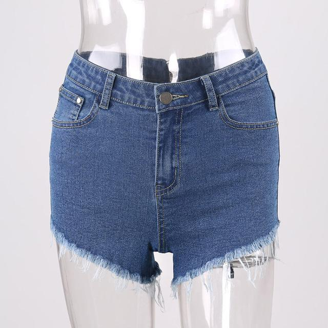Francesca Denim Shorts - Studio Runway