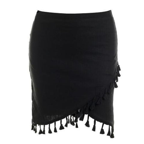 Image of Mischa Tassel Mini Skirt - Studio Runway