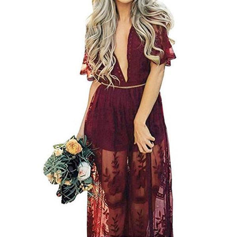 Devon Lace Maxi Dress - Studio Runway