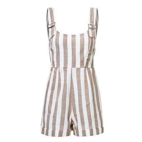 Image of Pixie Striped Romper - Studio Runway