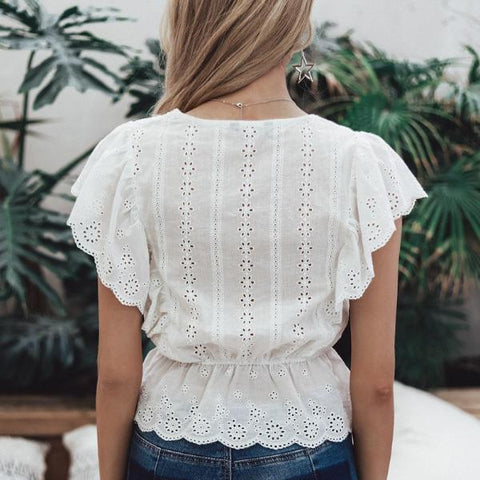 Image of Sienna Embroidery Blouse - Studio Runway
