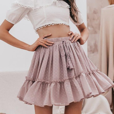 Image of Sienna Ruffle Mini Skirt - Studio Runway