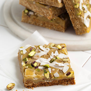 Ginger Crunch Slab