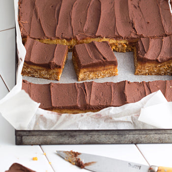 Salted Caramel Slice Slab