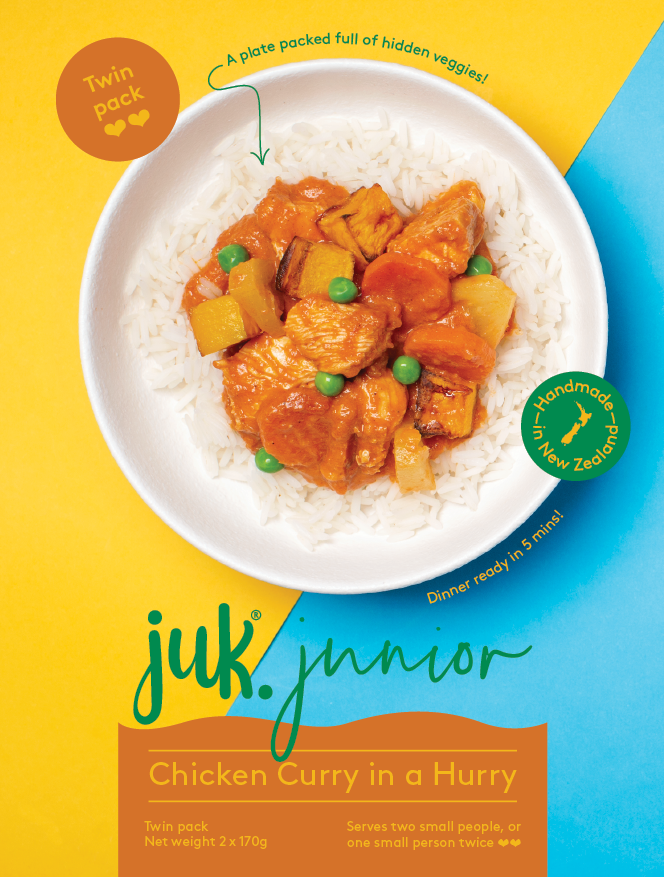 Junior JUK Chicken Curry in a Hurry
