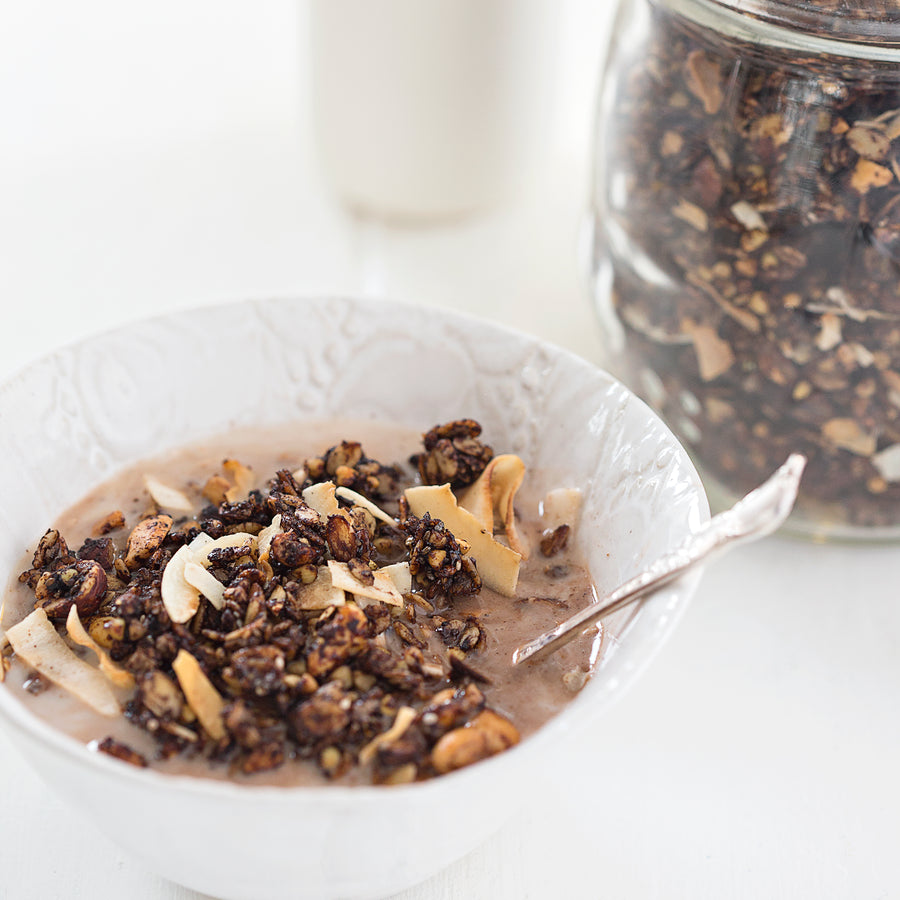 Chocolate & Coconut Buckwheat Muesli