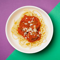 Junior JUK Birds Nest Spaghetti & Meatballs