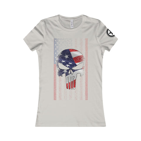 Punished Women's Tee - 50 Stars Apparel Co.