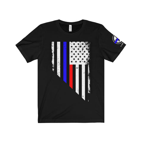 Las Vegas, Nevada First Responder Men's Tee-Charity - 50 Stars Apparel Co.