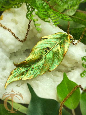 Timeless Leaf Pendant
