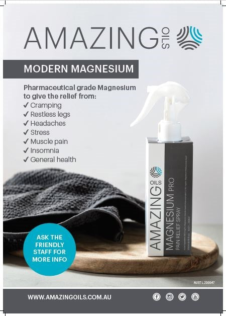 Amazing Oils Posters A3 Modern Magnesium