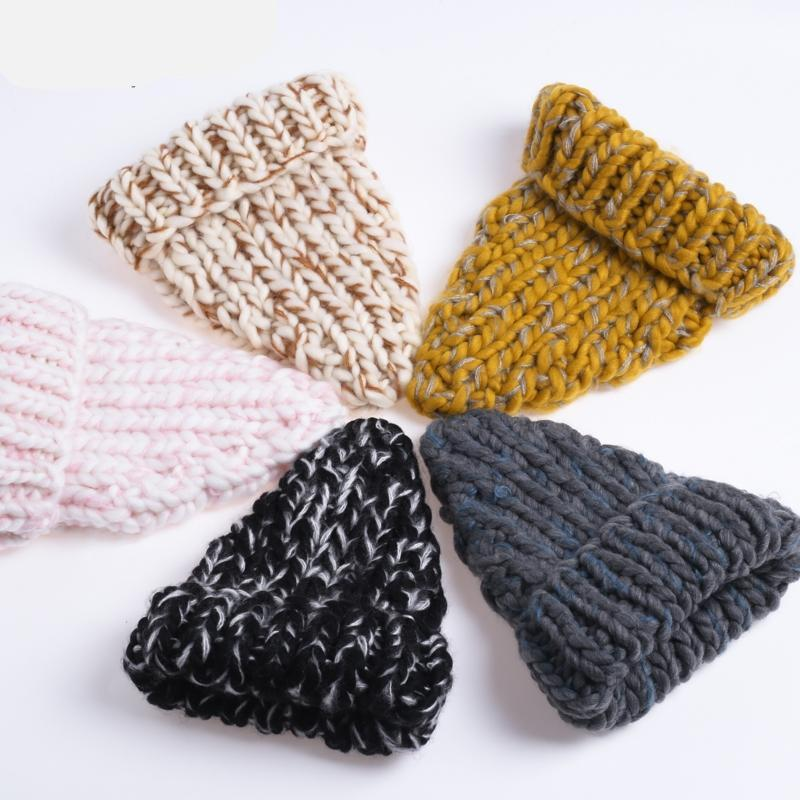 Knitted Wool Autumn Cap