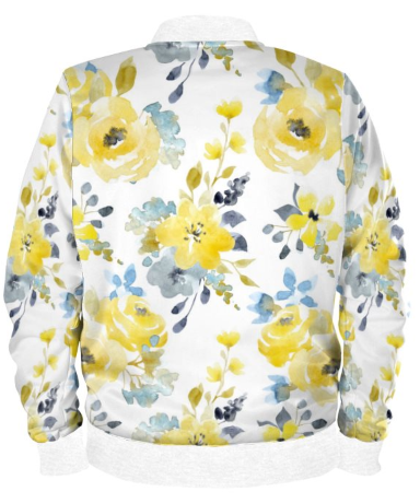 Beautiful Spring Bomber Jacket By Mark Loring