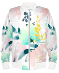 Soft Floral Bomber Jacket By Mark Loring