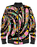 Technicolor Bomber Jacket By Mark Loring